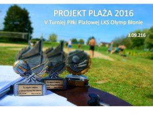 Projekt Plaza 2016