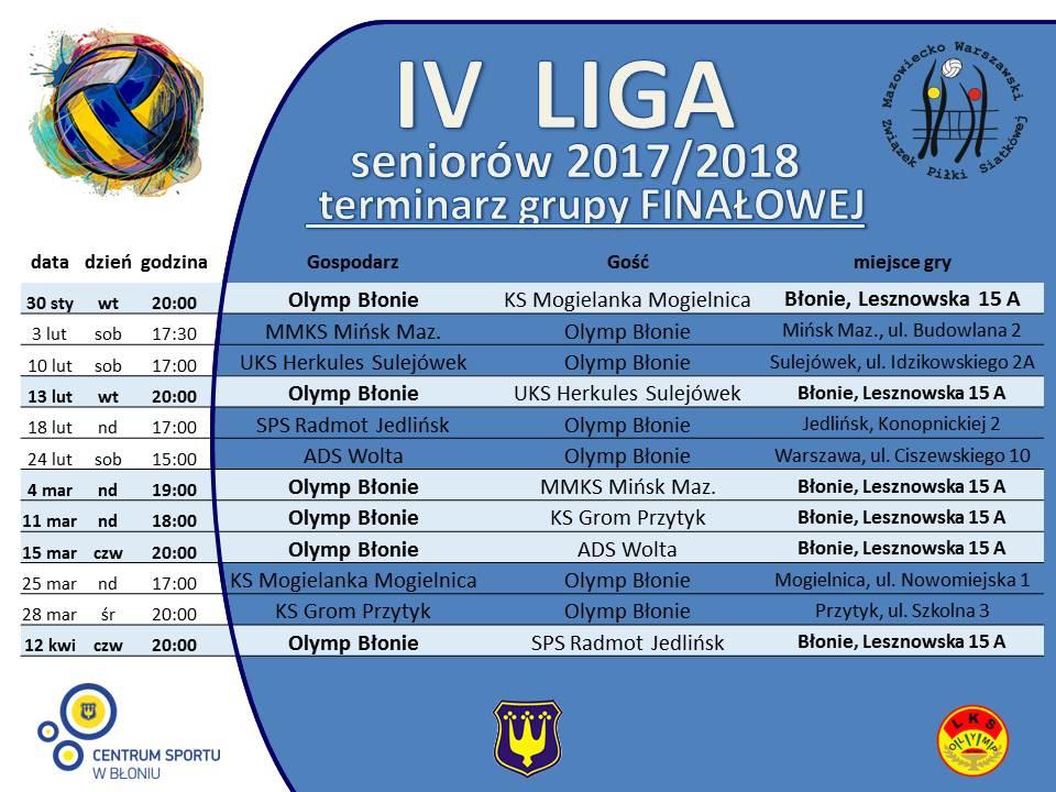Liga IV_2017_2018_terminarz_finaly